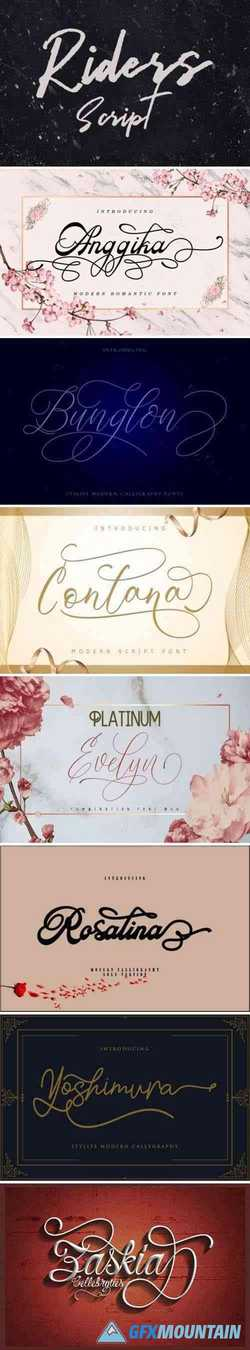8 Super Stylish Fonts