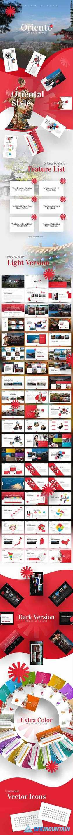 Oriento Tourism PowerPoint Template 23236367