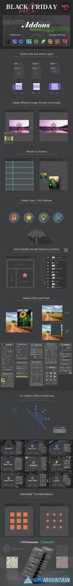 Photoshop Add-Ons Bundle 4342434