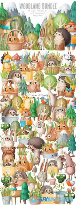 BIG WOODLAND BUNDLE - 4218259