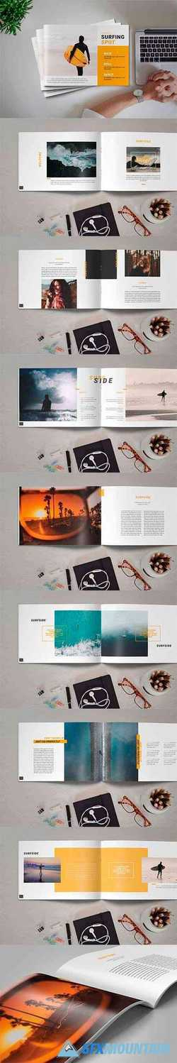 InDesign Brochure Catalog Template 4387105