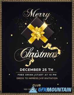 CHRISTMAS EVENTS INVITATION FLYER DESIGN