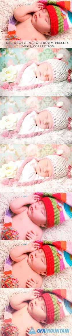 650 Newborn, Baby Lightroom Presets 4358264