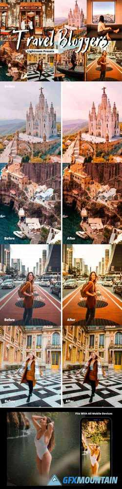 Travel Bloggers Lightroom Presets 4389852
