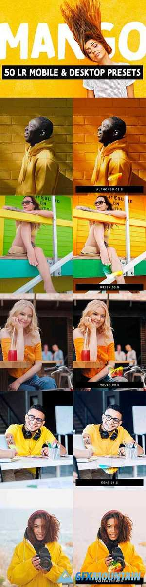 Mango - 50 Bright Lightroom Presets 4417054