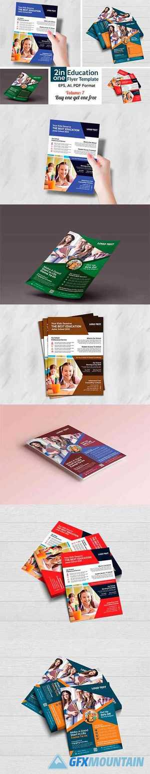 Admission Flyer Templates 4408301