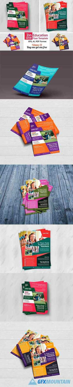 Admission Flyer Templates 4409422