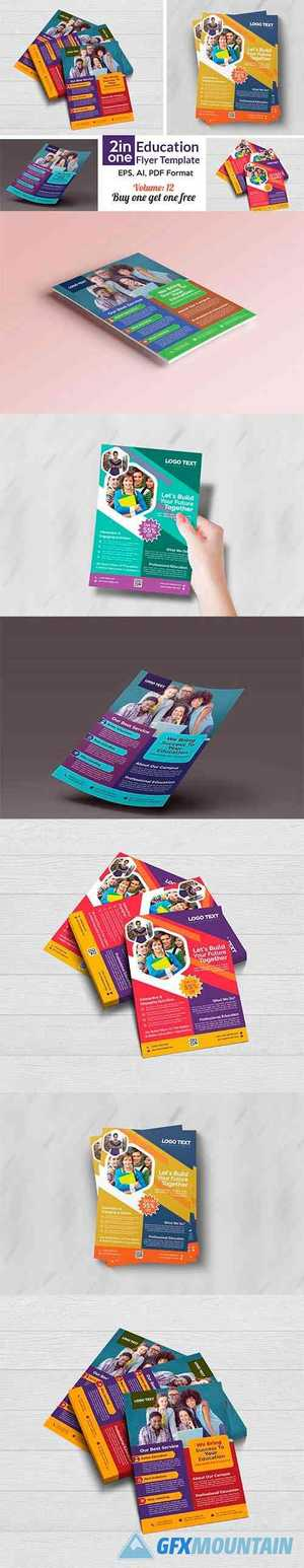 School Admission Flyer Templates 4408446