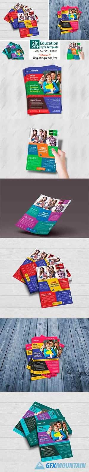 School Admission Flyer Templates 4408404