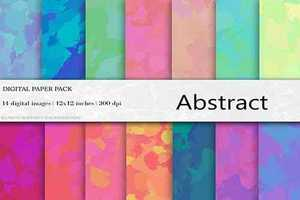 Abstract Digital Paper - 4455277