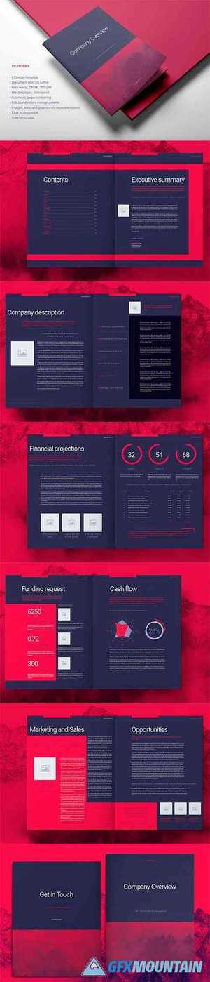 Purple Business Brochure Layout 4492886