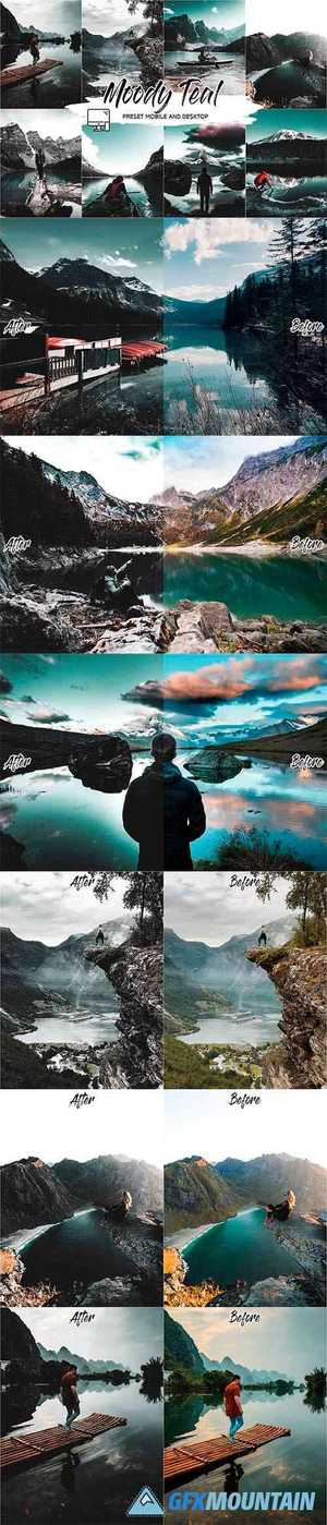 MOODY TEAL LIGHTROOM PRESETS 4505451