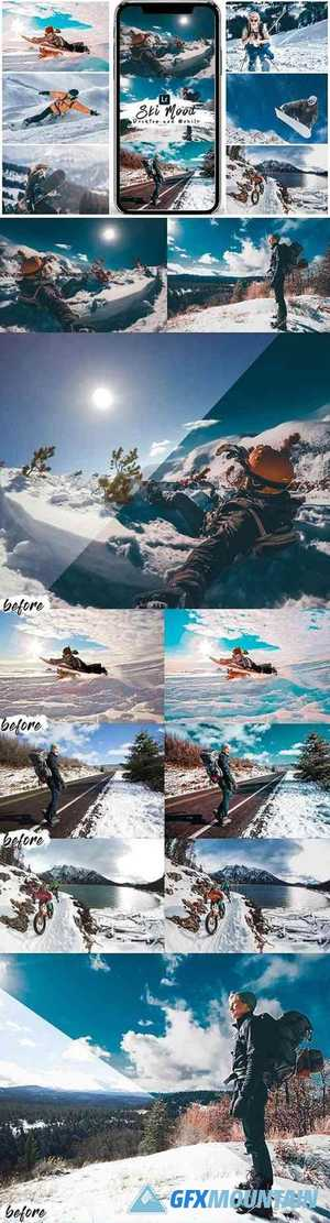 Ski Mood Presets For Mobile and Desktop Lightroom 25560611