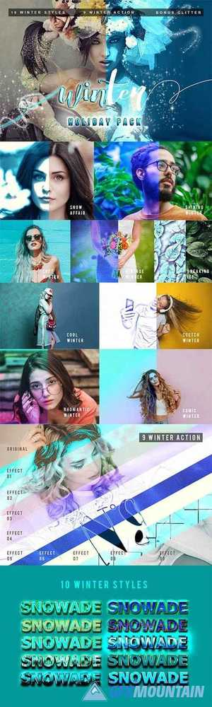 Winter Pack Photoshop Action