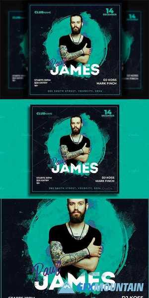 Dj Flyer Template 4586037