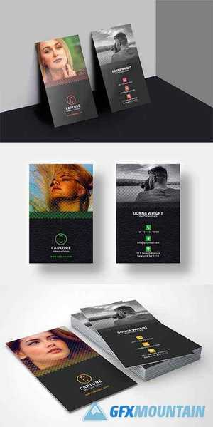 Photography Business Card Template 4528219