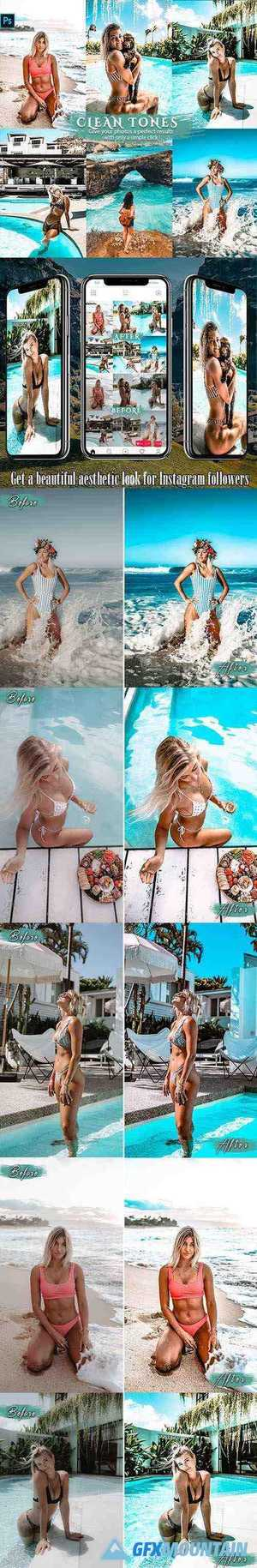 Clean Effects Travel Photoshop Actions 26039562