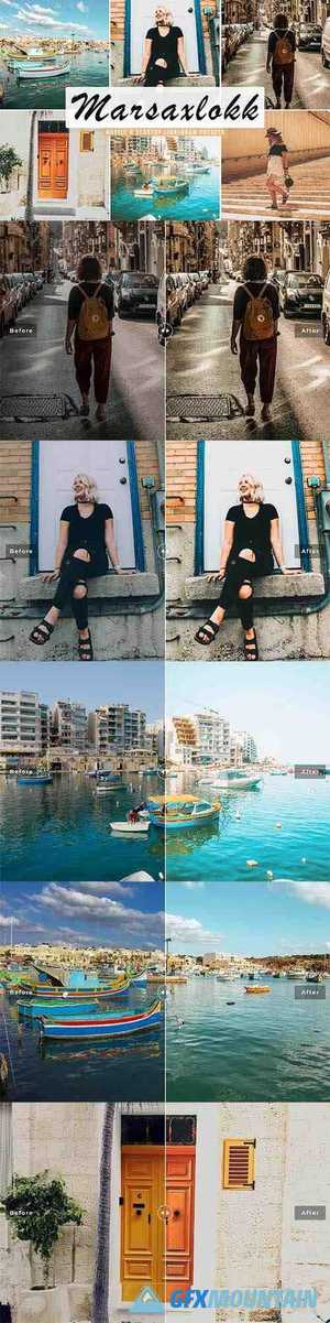 Marsaxlokk Mobile & Desktop Lightroom Presets
