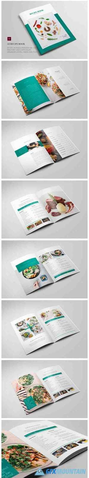 A5 Recipe Book Template 3792461