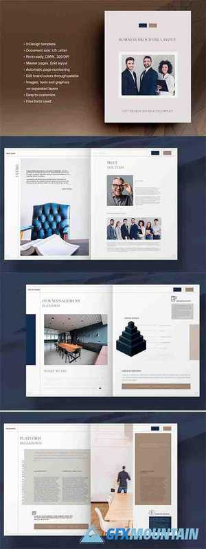 Business Brochure Layout 4723163