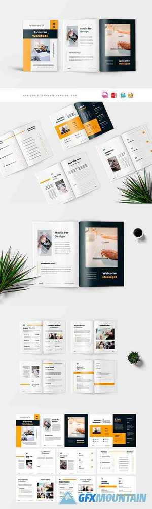 Company Profile, Word Template 4445783