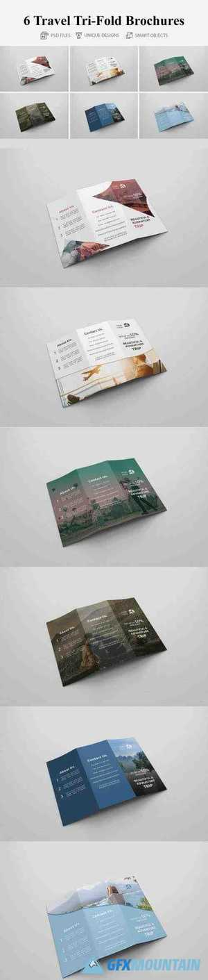 Travel Tri-fold Brochures 4401680