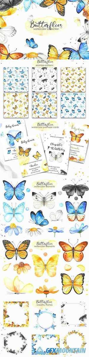 Butterflies Free Download Graphics Fonts Vectors Print Templates Gfxmountain Com