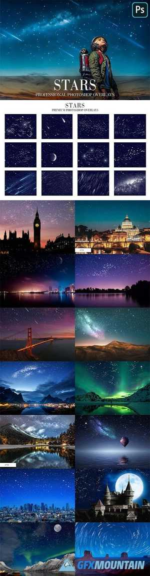 Stars Overlays Photoshop 4939984