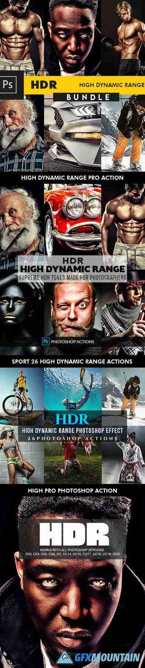 HDR Bundle - Photoshop Actions - 27196533