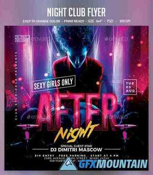 Night Club Flyer 25393621