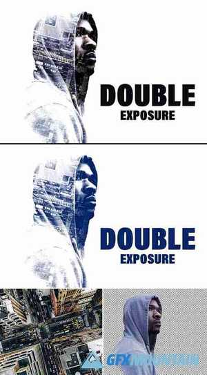 Double Exposure Photo Effect 362994260