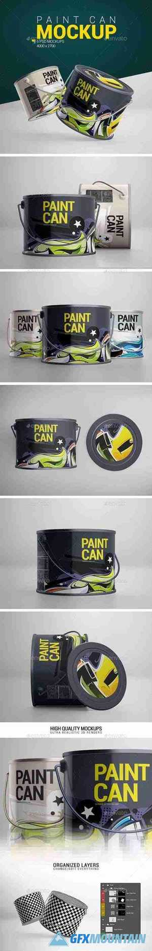 Paint Can Mockup 24080082
