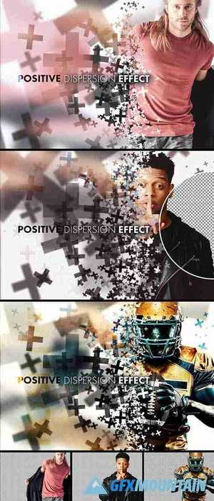 Positive Dispersion Effect Mockup 364786156
