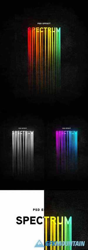 Long Barcode Color Shadow Effect Mockup 368076878