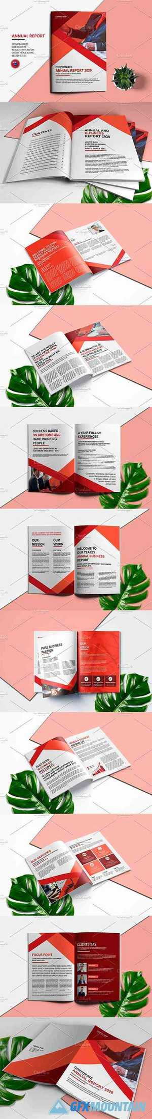 Annual Report Template V982 4442276