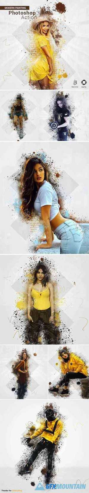 Painting Photoshop Action 27497079