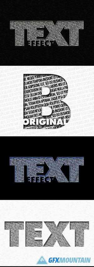 Double Text, Text Effect 369353234