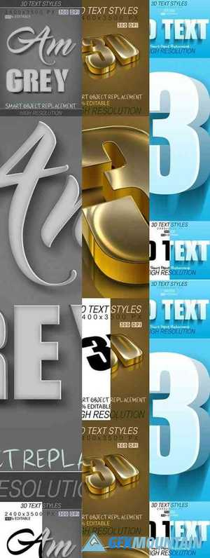 30 Bundle 3D Text Mix 21_7_20 27809999