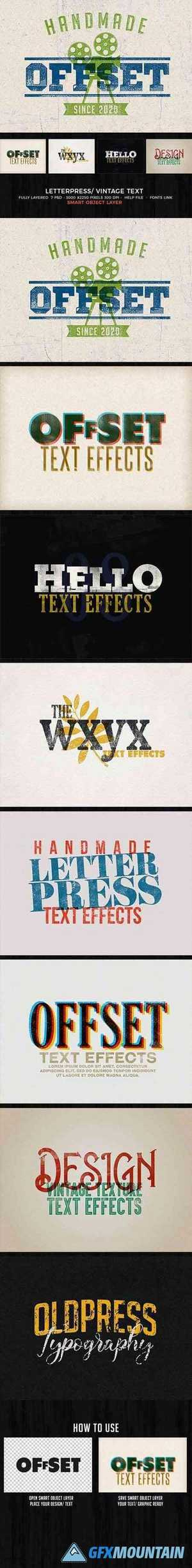 Letterpress - Vintage Text Effects 28019371