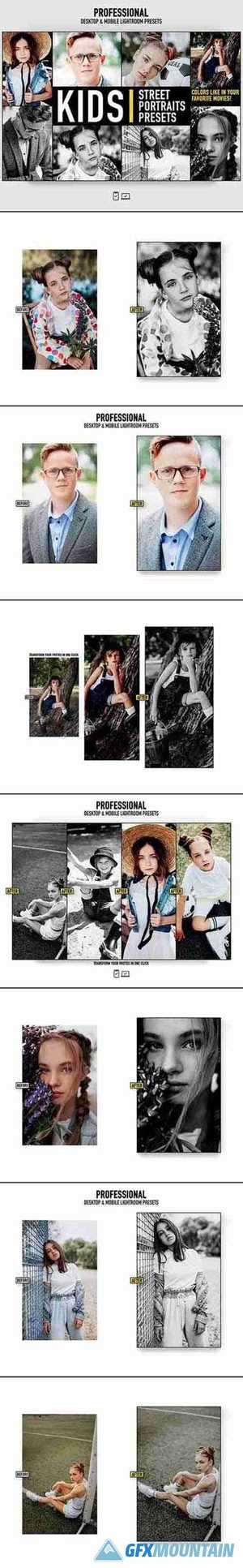 Lightroom Presets Kids Portrait Photography Actions 28278069