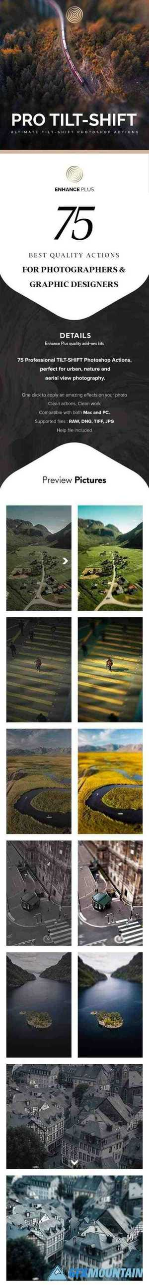 Professional Tilt-Shift Photoshop Actions 28114444
