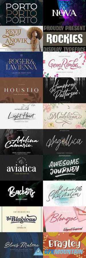 Creative Fonts Pack