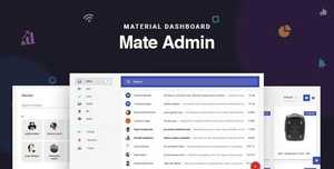Mate v2.0 - React Admin Template With Redux Material Design - 8 July 20 [themeforest, 21234776]