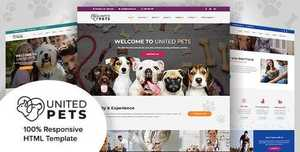 United Pets v1.1 - Responsive HTML5 Template - 3 April 20 [themeforest, 23276071]