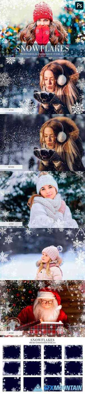 Winter Overlays Photoshop 4949169