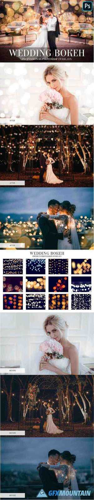 Wedding Bokeh Overlays 4934941