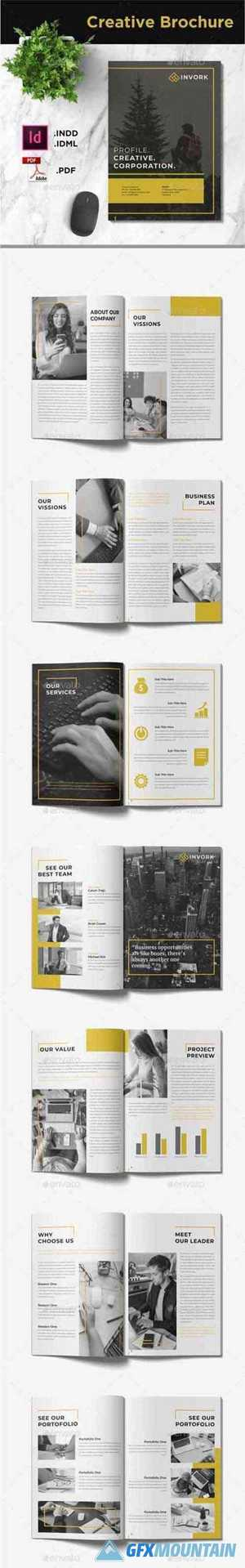 Invork - Business Brochure Template 28458511