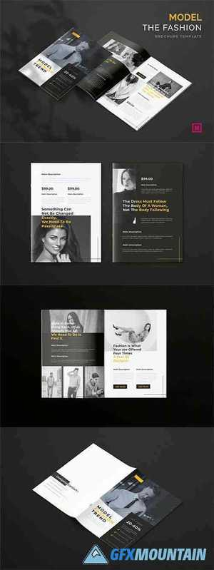 Model Fashion Trend - Brochure Template