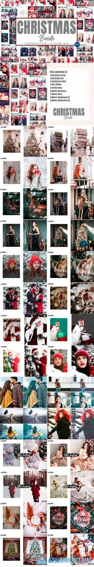 Bundle 55 Photoshop Actions, ACR, LUT 6576369
