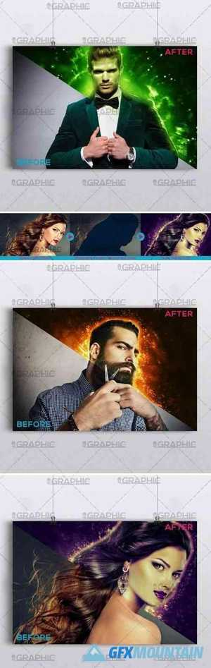 EXPLOSION – PREMIUM PHOTOSHOP ACTION